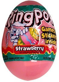 candy strawberry Ring Pop Nutrition info