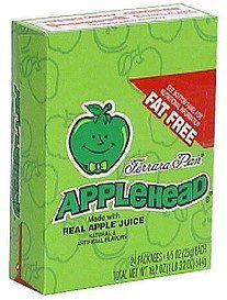 candy Apple-Head Nutrition info