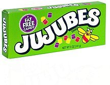 candy Jujubes Nutrition info