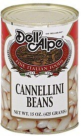 cannellini beans Dell'Alpe Nutrition info