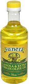 canola & extra virgin olive oil Sunera Nutrition info