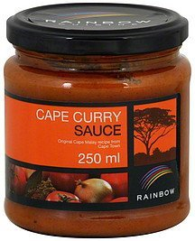 cape curry sauce Rainbow Nutrition info