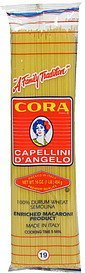 capellini d'angelo 19 Cora Nutrition info