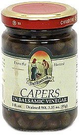 capers in balsamic vinegar Dal Raccolto Nutrition info