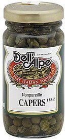 capers nonpareille Dell'Alpe Nutrition info