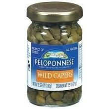 capers wild Peloponnese Nutrition info