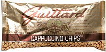 cappuccino chips Guittard Nutrition info