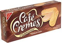 cappuccino sandwich cookies Cafe Cremes Nutrition info
