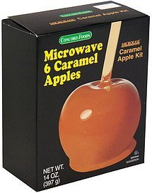 caramel apple kit Concord Foods Nutrition info
