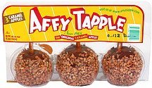 caramel apples Affy Tapple Nutrition info