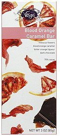 caramel bar blood orange Vosges Nutrition info