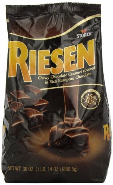 caramel chewy chocolate Riesen Nutrition info