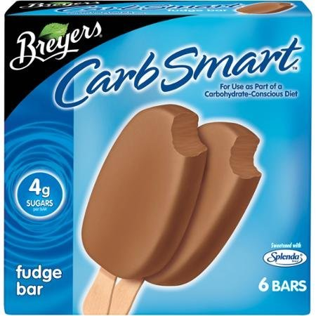 carb smart fudge bars Breyers Nutrition info