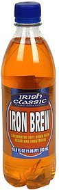 carbonated soft drink iron brew Irish Classic Nutrition info