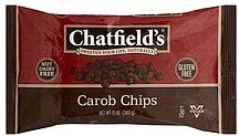 carob morsels dairy free Chatfields Nutrition info