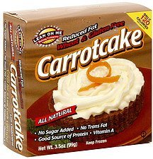carrotcake Lean On Me Baking Company Nutrition info