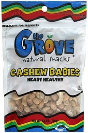 cashew babies The Grove Nutrition info