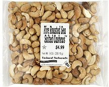 cashews fire roasted, sea salted International Foodsource Nutrition info