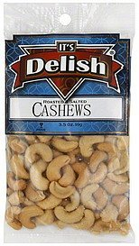 cashews roasted & salted Its Delish Nutrition info