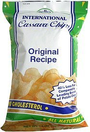 cassava chips international, original recipe Indies Nutrition info