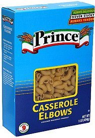 casserole elbows Prince Nutrition info