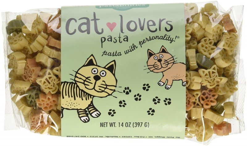 cat lovers pasta The Pasta Shoppe Nutrition info