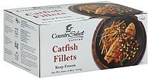 catfish fillets Country Select Nutrition info