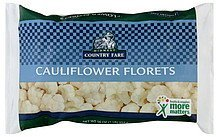 cauliflower florets Midwest Country Fare Nutrition info