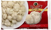 cauliflower Our Family Nutrition info