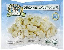 cauliflower Village Grown Organic Nutrition info