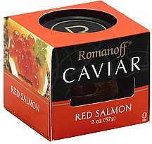 caviar red salmon Romanoff Nutrition info