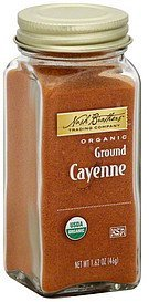 cayenne organic, ground Nash Brothers Trading Company Nutrition info