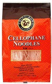 cellophane noodles China Bowl Select Nutrition info