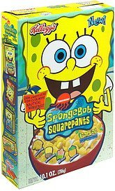 cereal artificially sweetened with marshmallows SpongeBob Squarepants Nutrition info