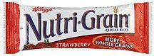 cereal bar strawberry Nutri-Grain Nutrition info