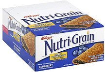 cereal bars blueberry Nutri-Grain Nutrition info