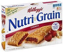 cereal bars cherry Nutri-Grain Nutrition info