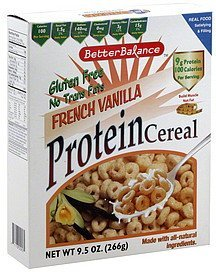 cereal better balance french vanilla protein Kays Naturals Nutrition info