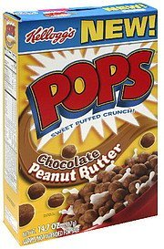 cereal chocolate peanut butter Pops Nutrition info