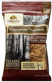 cereal cinnamon trackers Bear River Valley Nutrition info