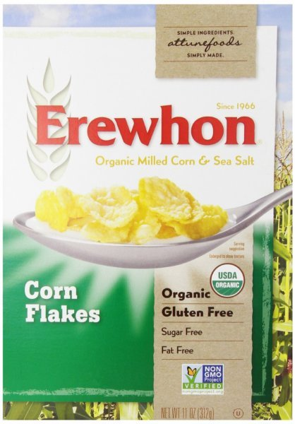 cereal corn flakes Erewhon Nutrition info