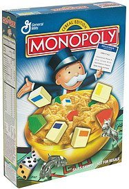 cereal edition Monopoly Nutrition info
