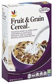 cereal fruit & grain Ahold Nutrition info