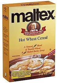 cereal hot wheat Maltex Nutrition info