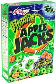 cereal limited edition Howlin' Apple Jacks Nutrition info