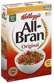 cereal original All-bran Nutrition info