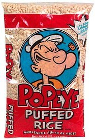 cereal popeye Puffed Rice Nutrition info