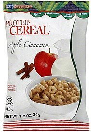 cereal protein, apple cinnamon Kays Naturals Nutrition info