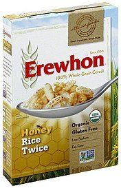 cereal rice twice, honey Erewhon Nutrition info