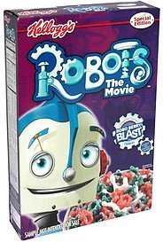 cereal special edition Robots the Movie Nutrition info